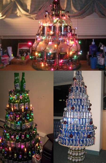 Funny Picture - College Christmas Trees