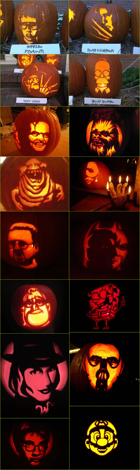 Funny Picture - Cool Halloween Pumpkins