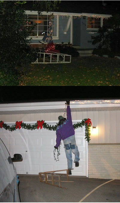 Funny Picture - More Christmas Pranks