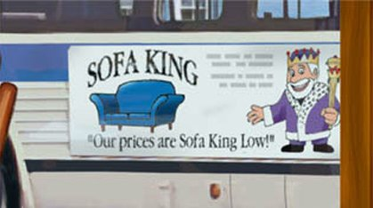 Funny Picture - Sofa King
