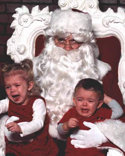 Funny Picture - I Hate This Job! - Santa Claus