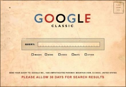 Funny Picture - Google Classic
