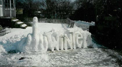 Funny Picture - Getting Tired Of Winter?
