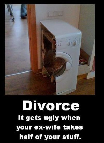 Funny Picture - Divorce