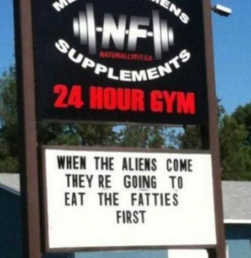 Funny Picture - Great Gym Ad