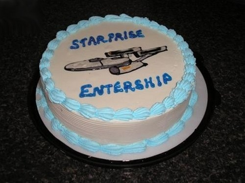 Funny Picture - Somewhere A Trekkie Is Fuming