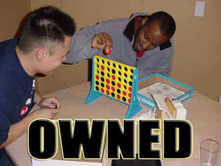 Funny Picture - Owned - Connect Four