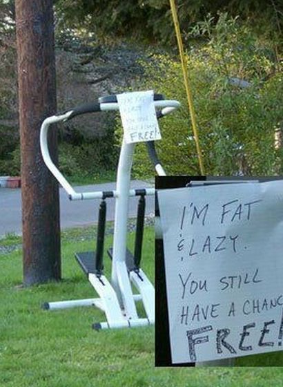 Funny Picture - Honest Sign