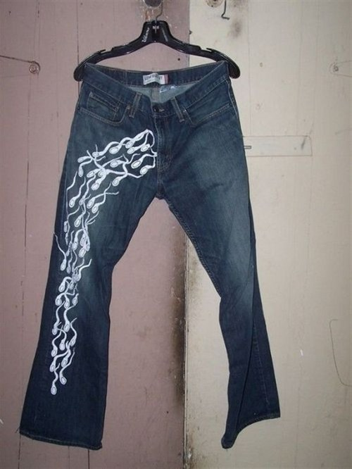 Funny Picture - Levis Sperm-Cuts