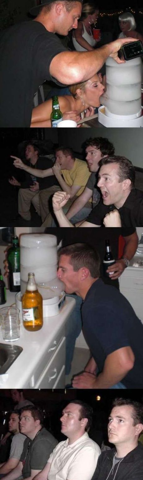Funny Picture - Ice Shot Dispenser