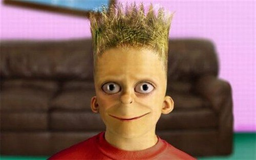 Funny Picture - Real Life Bart
