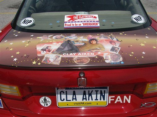 Funny Picture - Clay Aiken Fan